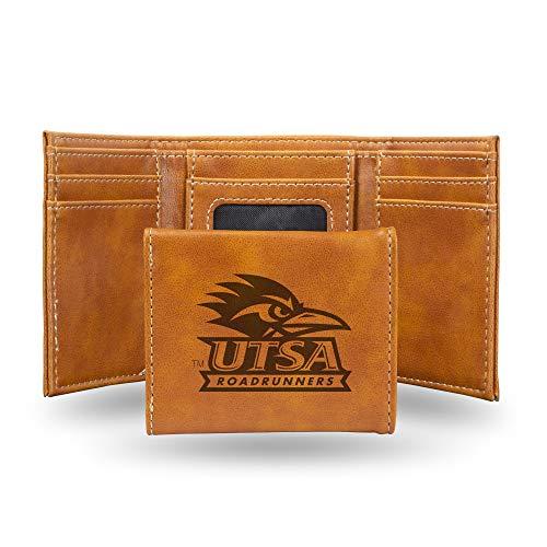 NCAA Rico Industries  Laser Engraved Trifold Wallet, UTSA Roadrunners