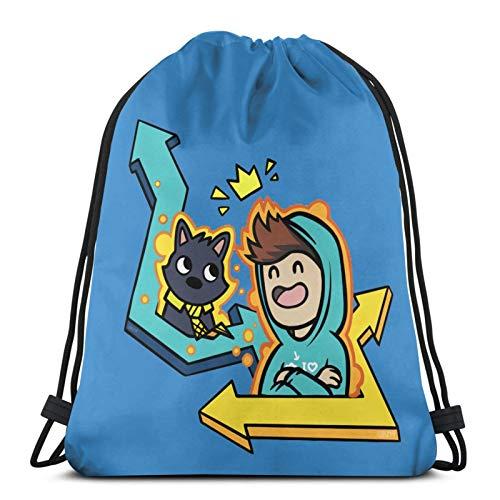 Shanxipeng Denis Daily'S Life Drawstring Backpack Sports Bag, Unisex Gym Bag, Dance Bag, Drawstring Bag