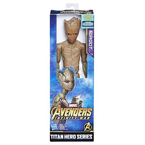 Marvel Infinity War Titan Hero Series Groot con Titan Hero Power FX Port