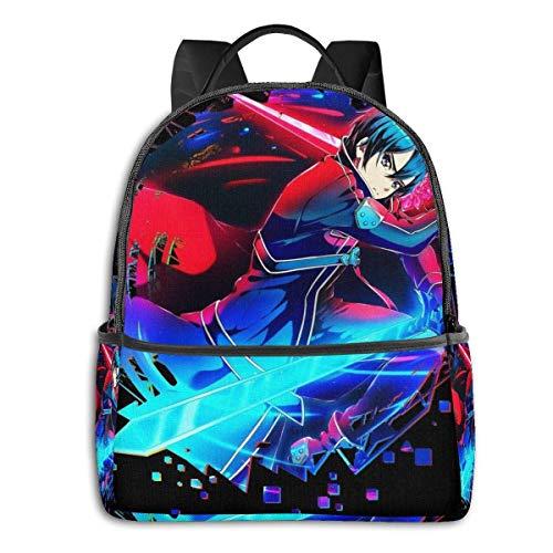 XCNGG Sword Art Online Kirito Student School Bag School Cycling Leisure Travel Camping Outdoor Backpack