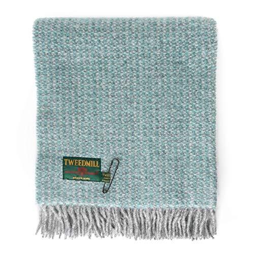 Tweedmill Textiles Illusionen werfen Speerminze grau