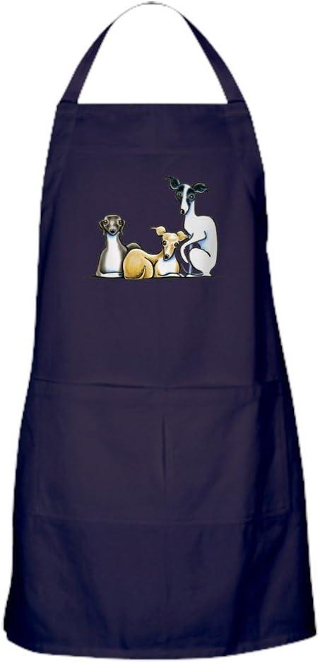 CafePress Italian Greyhound Trio Dark Kitchen Minneapolis Mall Apron Ranking TOP8 with