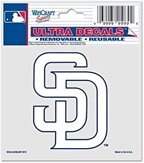 WinCraft MLB San Diego Padres 84490010 Multi-Use Decal, 3