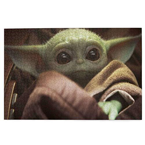 The Child Baby Yoda - Rompecabezas de 1000 piezas para adultos, adolescentes, impresión de alta definición, multicolor (70 x 50 cm)