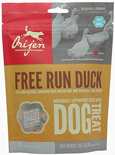 Orijen Treats Brome Lake Duck, friandises naturelles à la viande 56 gr