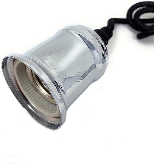 Portalampada Nocturna con illuminazione casuale colore: bianco dissuasive per i furgoncini attacco E27 in plastica