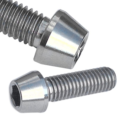 4 Titanium Bolt M5 x 10 mm conique