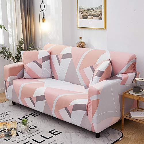 WXQY Wohnzimmer geometrische Stretch-Sofabezug Moderne Abschnitt Ecke Sofabezug Sofabezug Stuhlschutzbezug A20 1-Sitzer