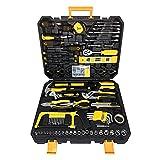 LZQ 268-teilig Werkzeugkoffer Universal Werkzeugsatz im Alukoffer Universal Alu Werkzeugkiste Für Haushalt, Garage & Werkstatt