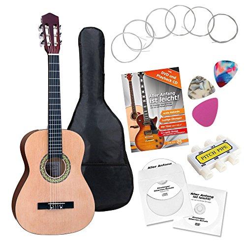 Classic Cantabile AS-861 guitarra de concierto 3/4 set de