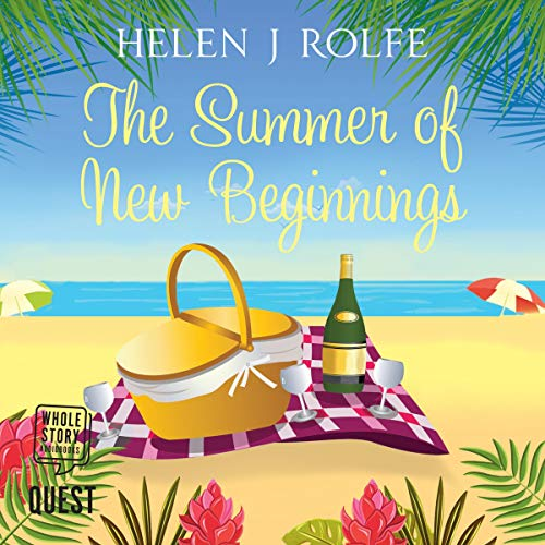 The Summer of New Beginnings audiobook cover art