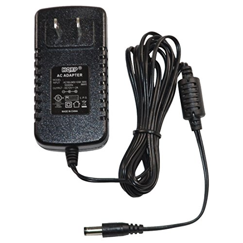 HQRP 12V AC Adapter Compatible with Uniden AD140U AD140UP BADG0845001 BCT7 BCT8 BC200XLT BC340CRS BC370CRS Scanner Power Supply PSU Cord Adaptor AD-140U AD-140 [UL Listed] + Euro Plug Adapter