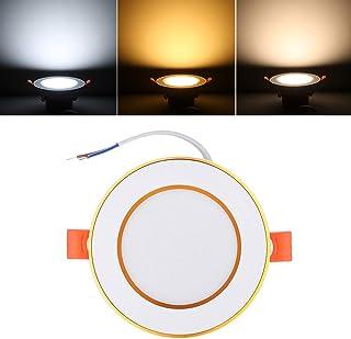 Iluminación empotrable Color : Warm White Wuchance Juego de Luces empotrables empotrables LED empotrables de Techo COB de 7W