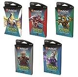 Get All 5! MTG Magic The Gathering Theros Beyond Death Theme Booster - Paquete de 35 Cartas (1 de Cada Color)