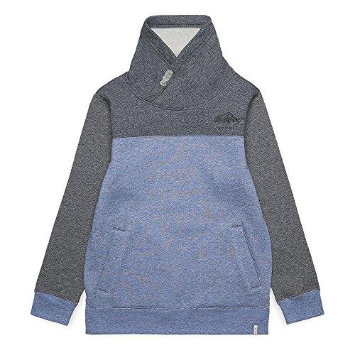 ESPRIT KIDS Jungen RK15086 Sweatshirt, Blau (Dark Grey Blue 424), 140 (Herstellergröße: S)