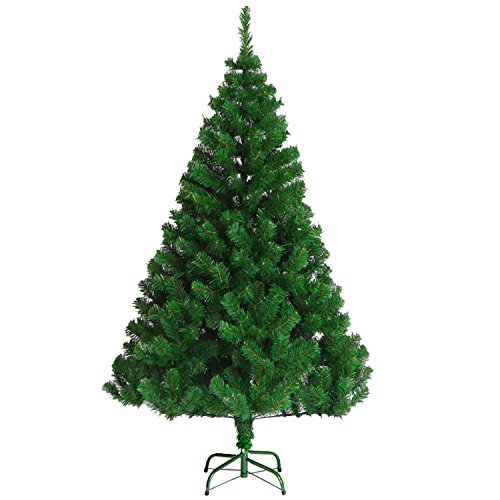 VEYLIN 6ft Christmas Tree 700 Tips Artificial With Metal Stand