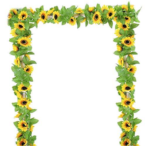 E-Bestar eucalyptus slinger, kunstmatig plant, Greenery, kunstleaf, bruiloft, woondecoratie, accessoires, wanddecoratie (4 stuks)