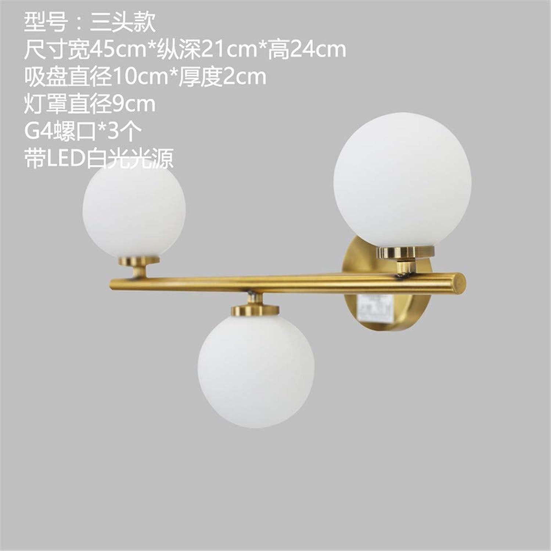StiefelU LED Wandleuchte nach oben und unten Wandleuchten Strae Flur Balkon Schlafzimmer LED-Lampe Wandleuchten, drei, 45  24 cm