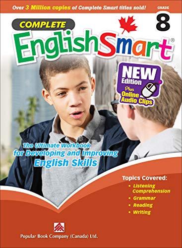 Complete EnglishSmart (New Edition) Grade 8: Canadian Curriculum English Workbook