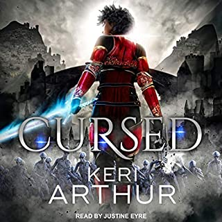 Cursed     Kingdoms of Earth & Air, Book 2              Written by:                                                                                                                                 Keri Arthur                               Narrated by:                                                                                                                                 Justine Eyre                      Length: 12 hrs and 30 mins     Not rated yet     Overall 0.0