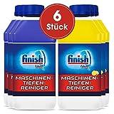 Finish Maschinenpfleger, Spülmaschinenreiniger, 6er Mixkarton (6x 250ml), 3x Classic & 3x Citrus...