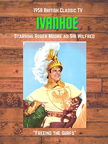 British 1958 TV Series Ivanhoe Freeing the Surfs starring Roger Moore