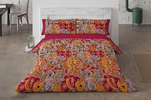 Burrito Blanco fn3095 12 1502B dekbedovertrek, mengsel van katoen, rood, 38 x 30 x 6 cm