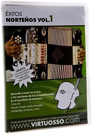 Virtuosso EAB1 Exitos Nortenos en el Accordion de Botones DVD and CD Vol.1