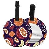 Etiquetas para Equipaje Bolso ID Tag Viaje Bolso De La Maleta Identifier Las Etiquetas Maletas Viaje Luggage ID Tag para Maletas Equipaje Sangre Naranja
