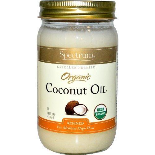 Spectrum Organic Coconut Oil 14 Oz. by Spectrum Naturals