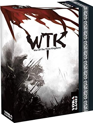 YOKA GAMES - Sanguosha WTK Guerra de Los Tres Reinos Juego de Mesa Estratégica Cooperativa para Fiesta Juego de Cartas Hero China Oriental Adictivo Divertido (Versión Estándar Inglés)