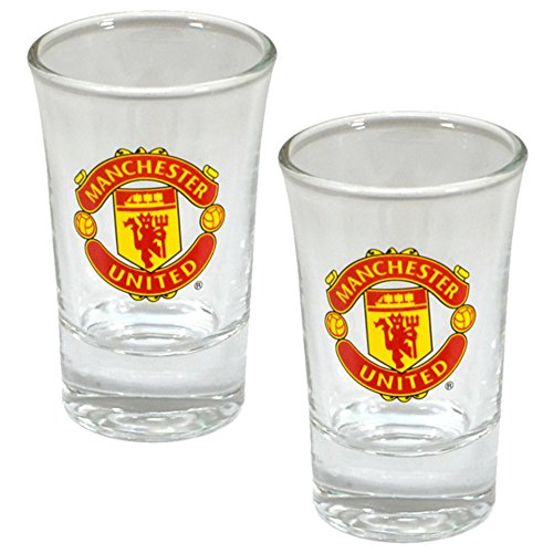 Manchester United Football Club - Club Crest Shot Glass Set