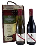 d'Arenberg The Olive Grove Chardonnay and d'Arenberg The d'Arry's Original Grenache Shiraz in a Lovely Wooden Chateau Box