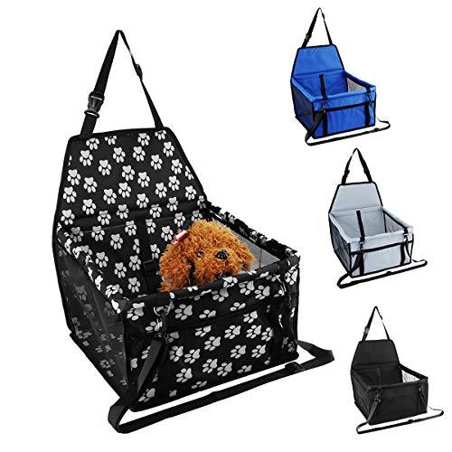 Wuchance Hangmatkooi voor in de auto, copiloot, zitje, huisdier, mat, reis, stoel, hondenbeschermer, drager, kussen, waterdicht Paws.