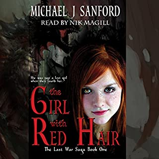 The Girl with Red Hair audiobook cover art