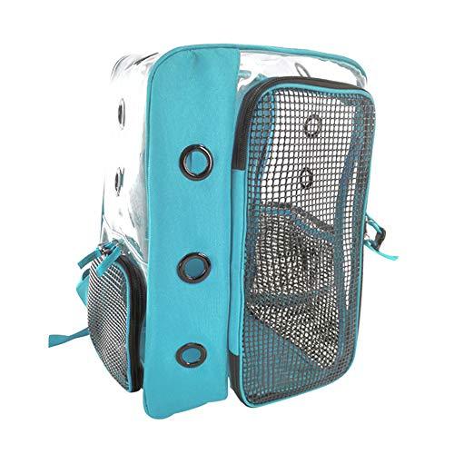Pet Carrier Bag Gatto Zaino Panoramico Trasparente Traspirante Esterno Portatile Gatto Cielo Blu Sacchetto Gatto Mobili