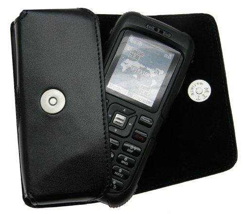 Matiate Original MTT Quertasche für/Sonim XP1 / Horizontal Tasche Ledertasche Handytasche Etui mit Gürtelschlaufe*