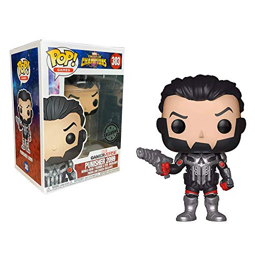 Funko POP! Marvel Contest of Champions: Punisher Exclusivo
