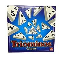 Das raffinierte Anlegespiel für die ganze Familie Darum geht´s – die dreieckigen Steine wie beim Domino anlegen und mit raffinierten Anlegemöglichkeiten Punkte absahnen Triominos fördert Logik Denken und Taktik Inhalt 56 Spielsteine (3 5 cm x 3 5 cm ...