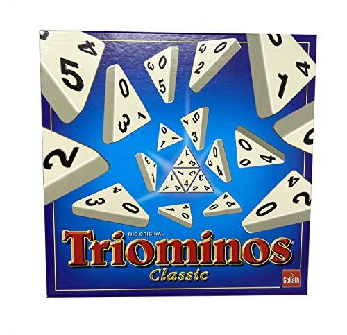 Goliath Toys 60.630.101 Goliath - Triominos Classic - das spannende Anlegespiel, ab 6 Jahren, weiß