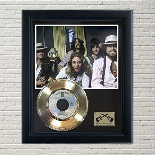 Eagles Hotel California Framed Record Display
