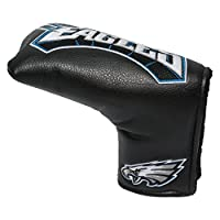Team Golf NFL Philadelphia Eagles Golf Club Vintage Blade Putter Headcover, Form Fitting Design, Fits Scotty Cameron, Taylormade, Odyssey, Titleist, Ping, Callaway