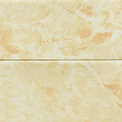 3D Wandaufkleber aus Backstein, selbstklebende Tapete, DIY abnehmbare mehrfarbige Tapete, schalldämmende selbstklebende Tapete, 70 * 60CM (10 Stück) (Color : B)