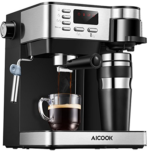 AICOOK Espresso and Coffee Machine, 3 in 1...