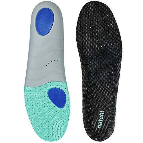 natch! DYNAMIC 100 - dynamisches Fußbett für Indoor und Outdoorsportler, Größe 43, 1er Pack (1 Paar)