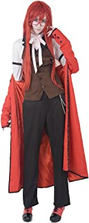 Miccostumes Men's Grell Sutcliff Cosplay Costume