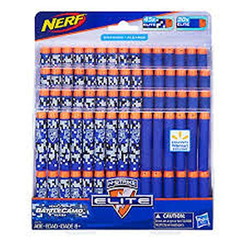 Hasbro Nerf N-Strike Elite 75 Darts Refill Pack - with Exclusive BattleCamo Darts