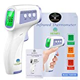 Digital Infrared Forehead Thermometer, Non-Contact for Adults and Kids with 3 Function - Fever Alarm, Large LCD Screen and Data Memory