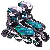 Patins Rollers Inline Mormaii Flexxxa Pro Verde Nº38-374000