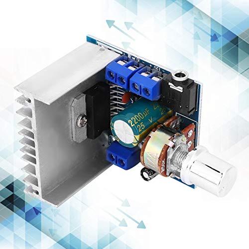Módulo Amplificador de Volumen Digital Módulo de Placa de Amplificador de Potencia de 2 Canales de Alta confiabilidad Sin Ruido estático Calidad de Sonido Puro Volumen pequeño DC 9-15V